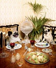 Valentino, salad of artichokes & spinach © Wallpaper