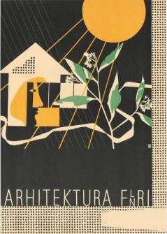 Arhitektura FLNRJ (1951) (fonte: Digitalna Knjižnica Slovenije)