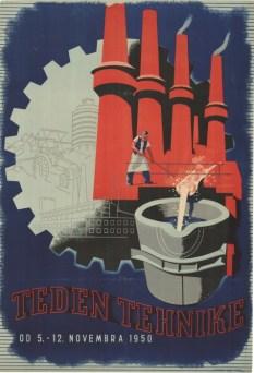Teden tehnike (1950) (fonte: Digitalna Knjižnica Slovenije)