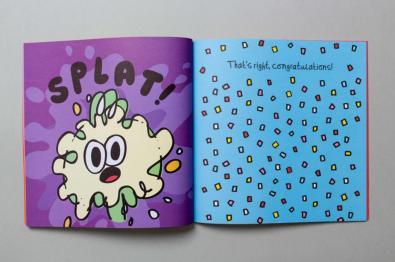 """Splat"", di Jon Burgerman, Penguin Random House, giugno 2017"