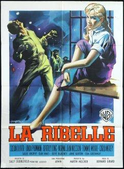 """""""La ribelle"""" di Bernard Girard, 1957 artwork: Sandro Symeoni (fonte: facebook.com/SandroSymeoni)"""