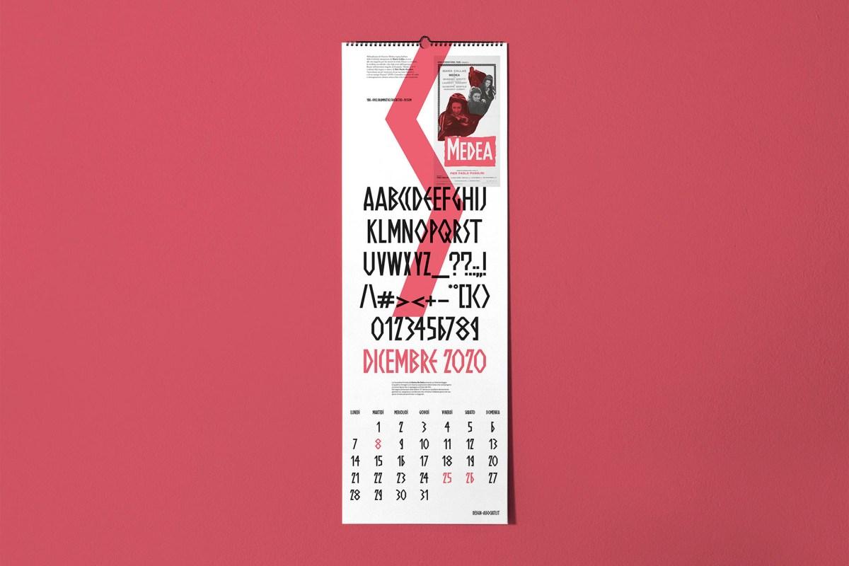09 calendario 2020 cinema italiano