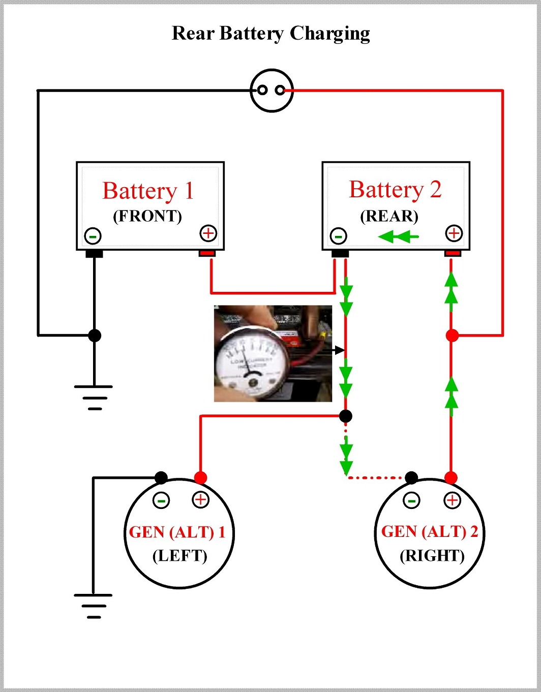 m1008 cucv wiring diagram funny flow pictorial showing charging current flowing get
