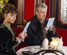 "The Doctor and Clara in ""Deep Breath"""