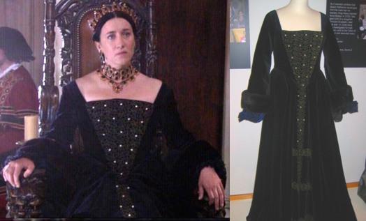 Maria Doyle Kennedy as Catherine of Aragon in The Tudors.