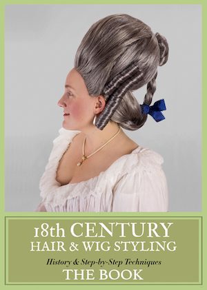 18th Century Hairstyling Book by Frock Flicks