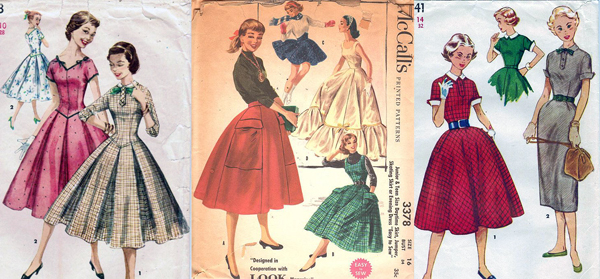 1950s patterns for young women