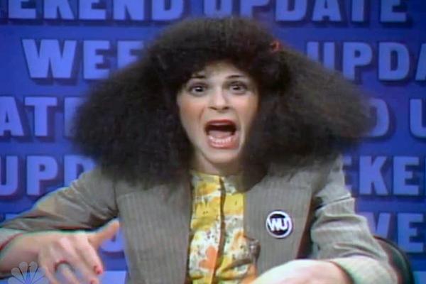 Gilda Radner as Roseanne Roseannadanna on Saturday Night Live (1977)