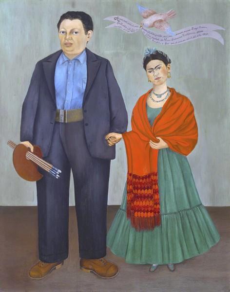 Frida and Diego, 1931, by Frida Kahlo