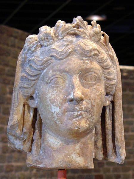 Bust of Livia, 1st century CE