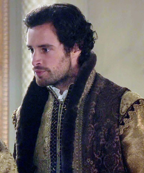 Charlie Carrick in Reign (2015-)