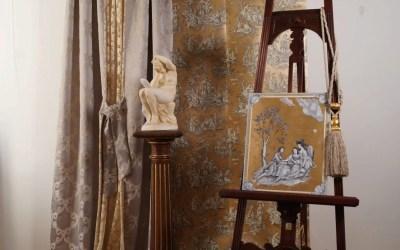 Art & Interieur – Toile de jouy