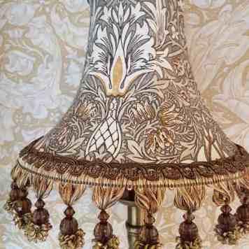 William Morris Lampe Snake grau 2