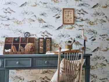 Bird Tapete b Sanderson Embleton