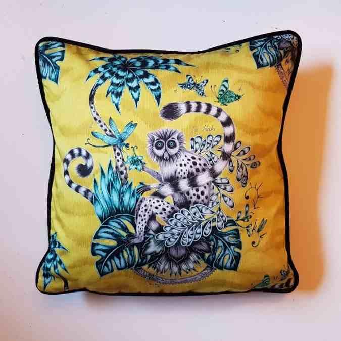 ..Lemur Kissen Emma Shipley 40×40 cm