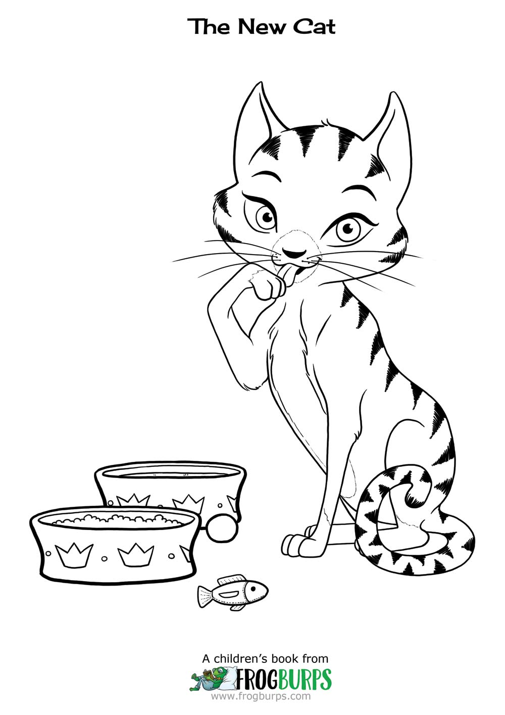 "Cat from ""The New Cat"" 