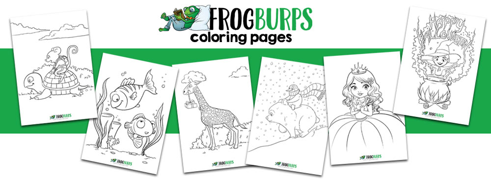 Frogburps Coloring Pages