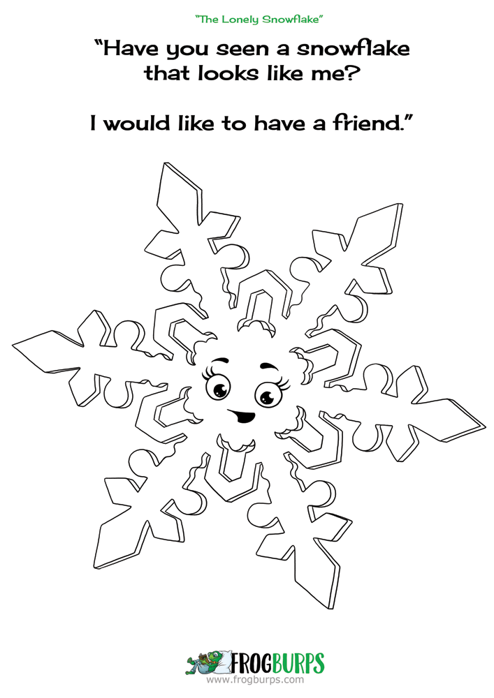 Snowflake | Coloring Page