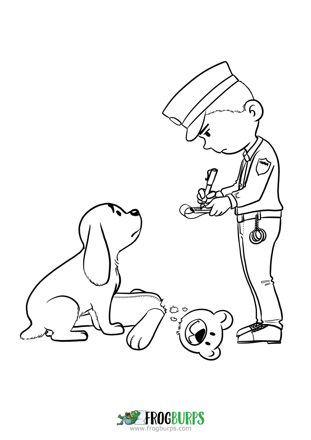 Ticket | Coloring Page