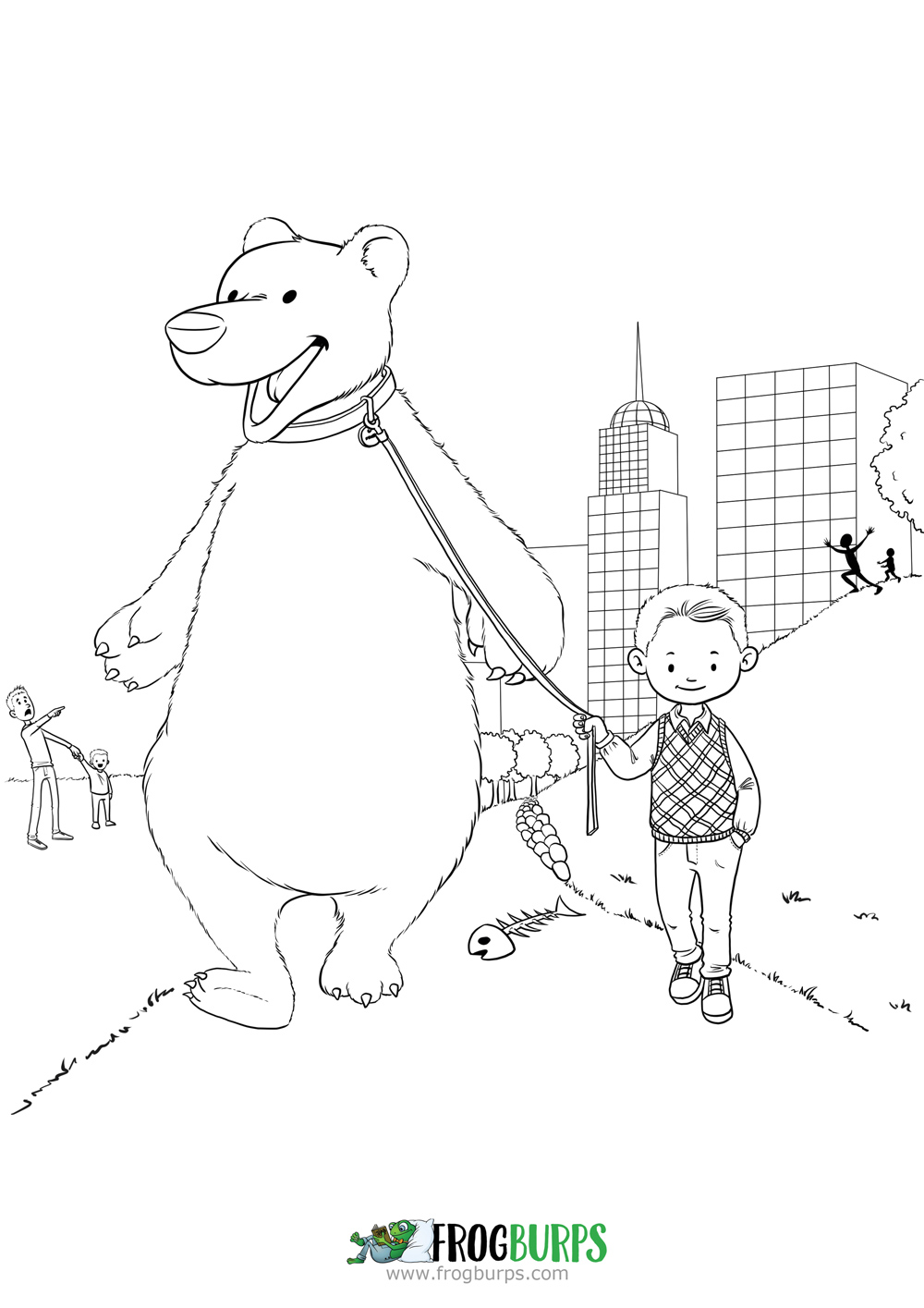 The Best Pet | Coloring Page