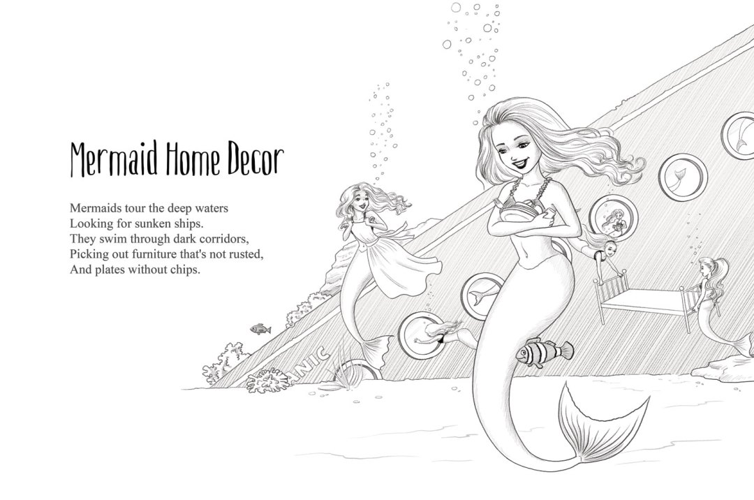 Mermaid Home Decor | A short story from Frogburps