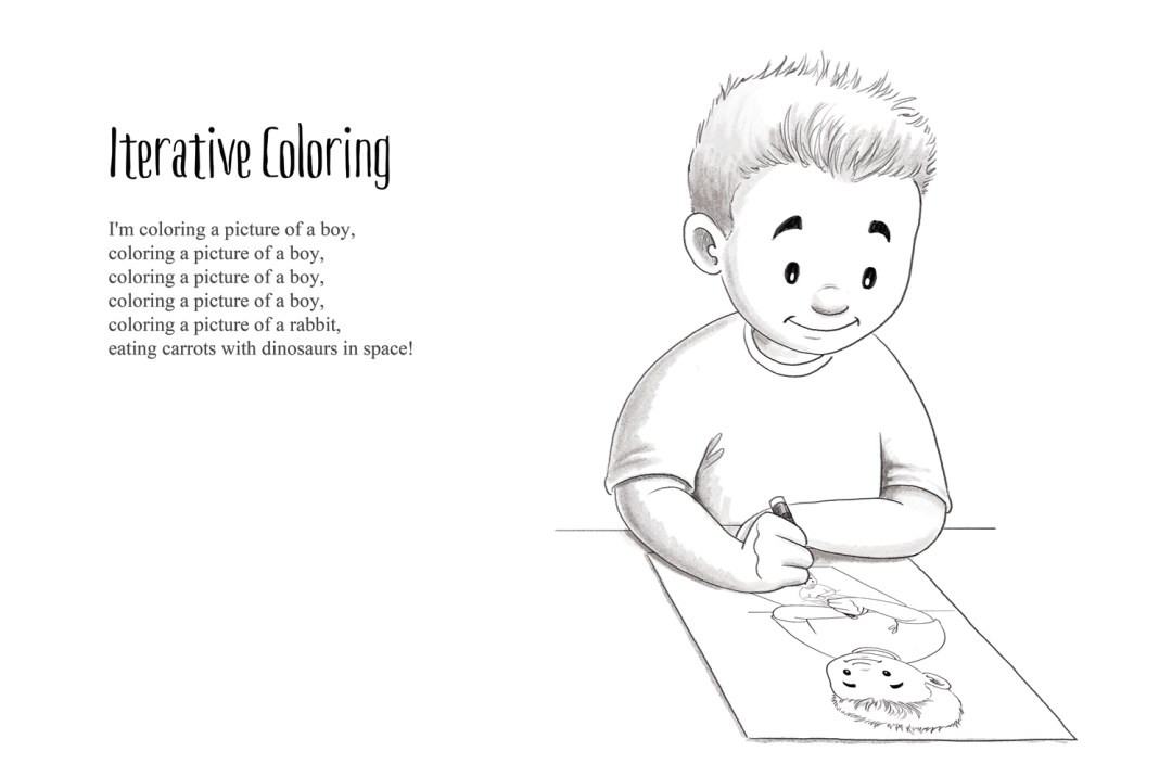 Iterative Coloring - a short story by Patrick S. Stemp and Anita Soelver