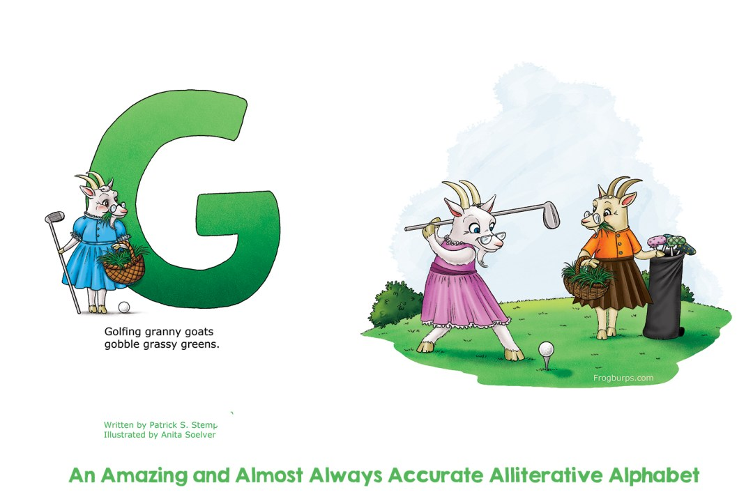 G - Alliterative Alphabet by Frogburps