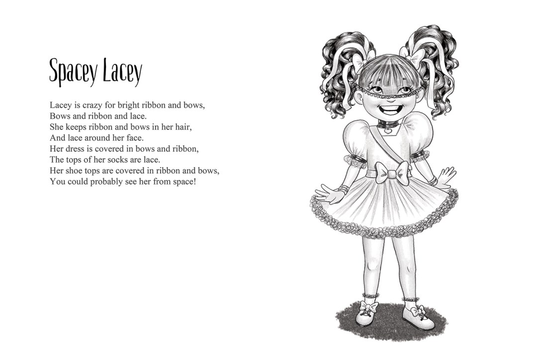 Spacey Lacey - a short story by Patrick S. Stemp and Anita Soelver