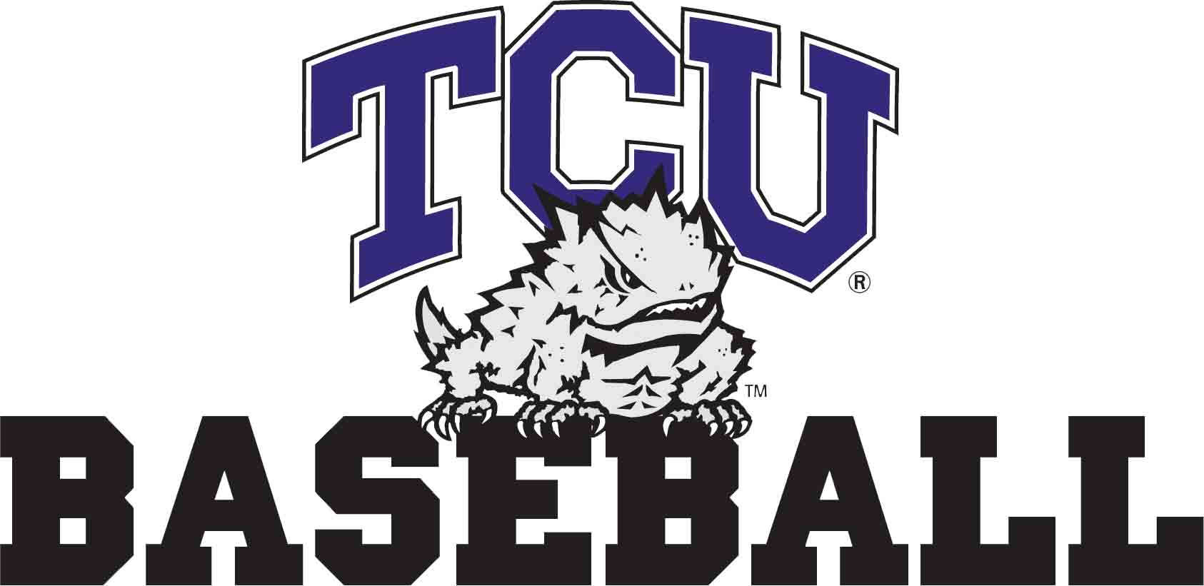 Image result for TCU Baseball Logo