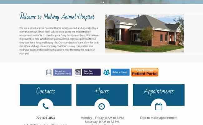 Joomla To Wordpress Migration For Midway Animal Hospital
