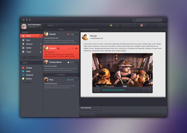Diseo Digital 25 Ejemplos de interfaces de aplicac