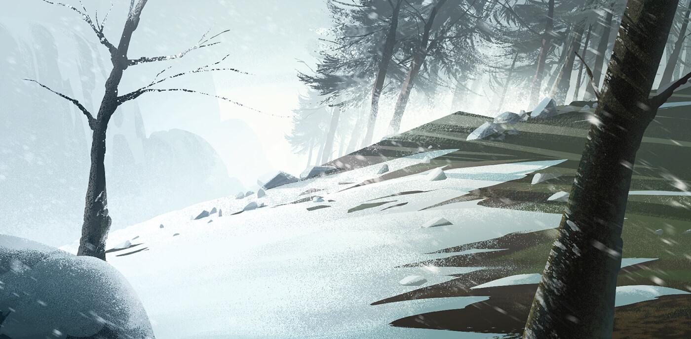 Hermosos dibujos de paisajes realizados a lpiz para