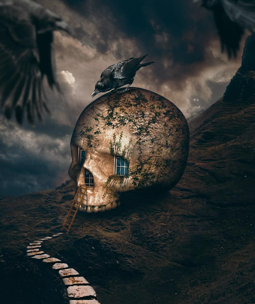 Geniales fotografas surrealistas por Hseyin Sahin
