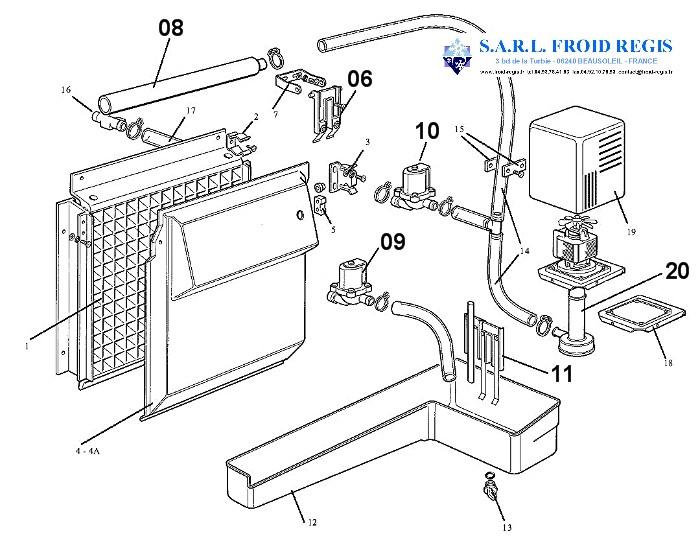 SPARE PARTS FOR ICE MAKER SCOTSMAN MV300 MV450 MV600 MV800