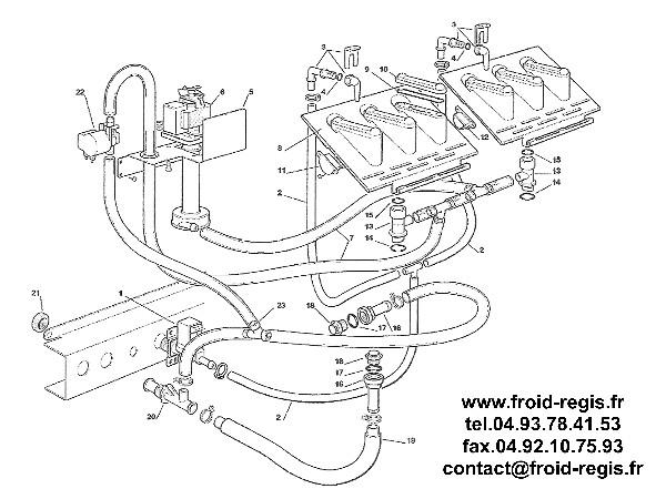 SPARE PARTS FOR ICE MAKER SCOTSMAN ACM126 ACM176