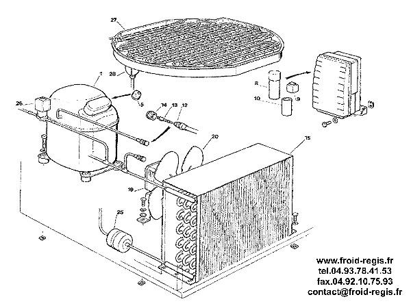 SPARE PARTS FOR ICE MAKER SCOTSMAN ACM206 ACM226