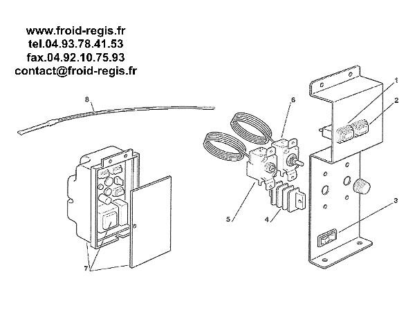 SPARE PARTS FOR ICE MAKER SCOTSMAN ACM46 ACM56 ACM86