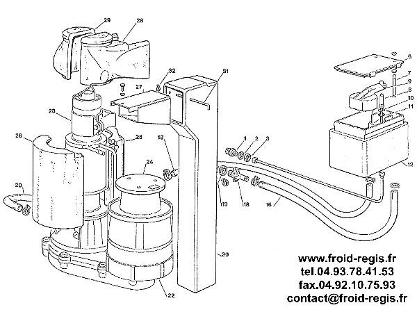 SPARE PARTS FOR FLAKE ICE MACHINES SCOTSMAN AF80 AF100