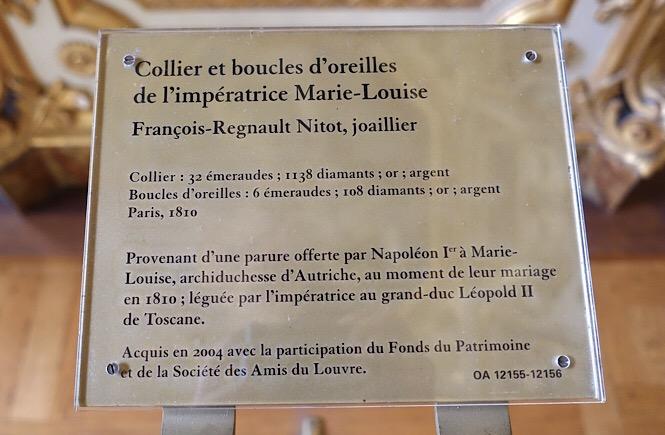 Description of a museum exhibit.