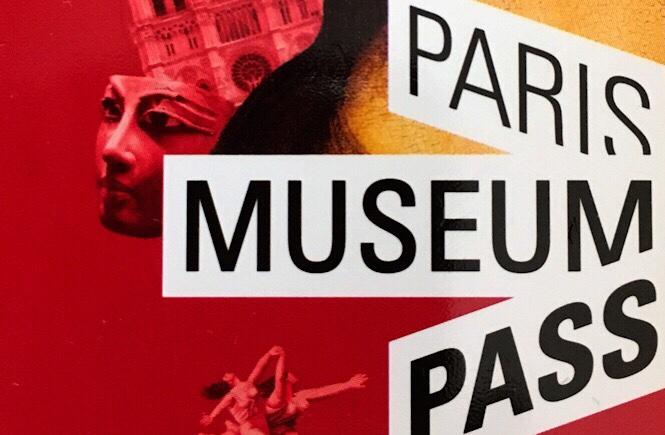 Close up of the Paris Museum Pass cover.