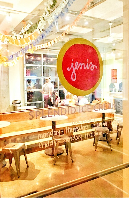 Door of Jeni's Splendid Ice Creams.
