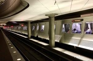 Photo of new metro car.