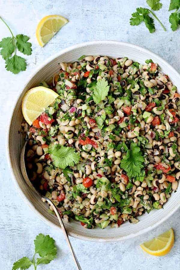 Spicy Black-Eyed Pea Salad