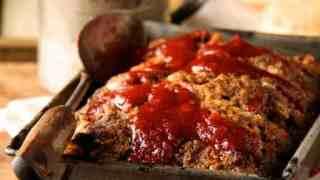 Chili Glazed Meat Loaf