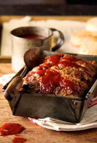 Chili-Glazed Meat Loaf