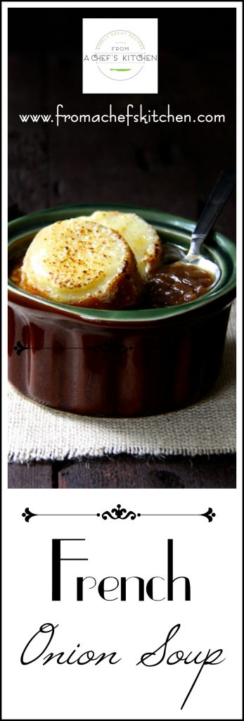 French Onion Soup is a classic that's always in season!