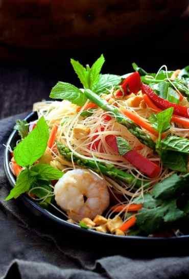 Vietnamese Spring Roll Salad