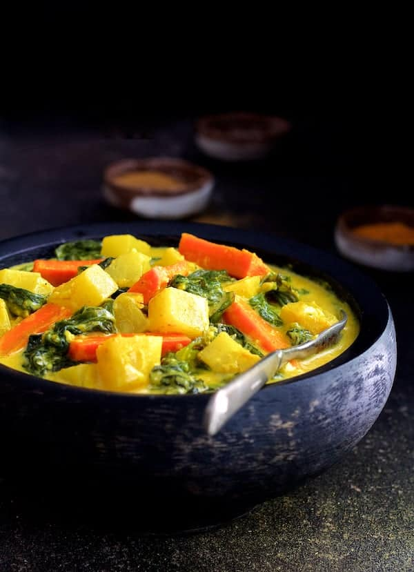 Indian Root Vegetable Curry
