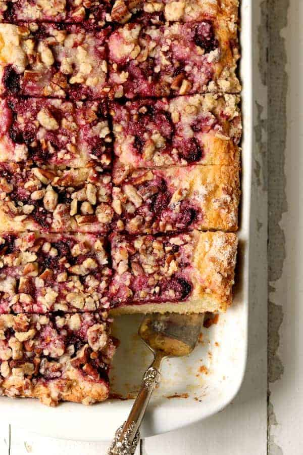 Easy Raspberry Coffee Cake