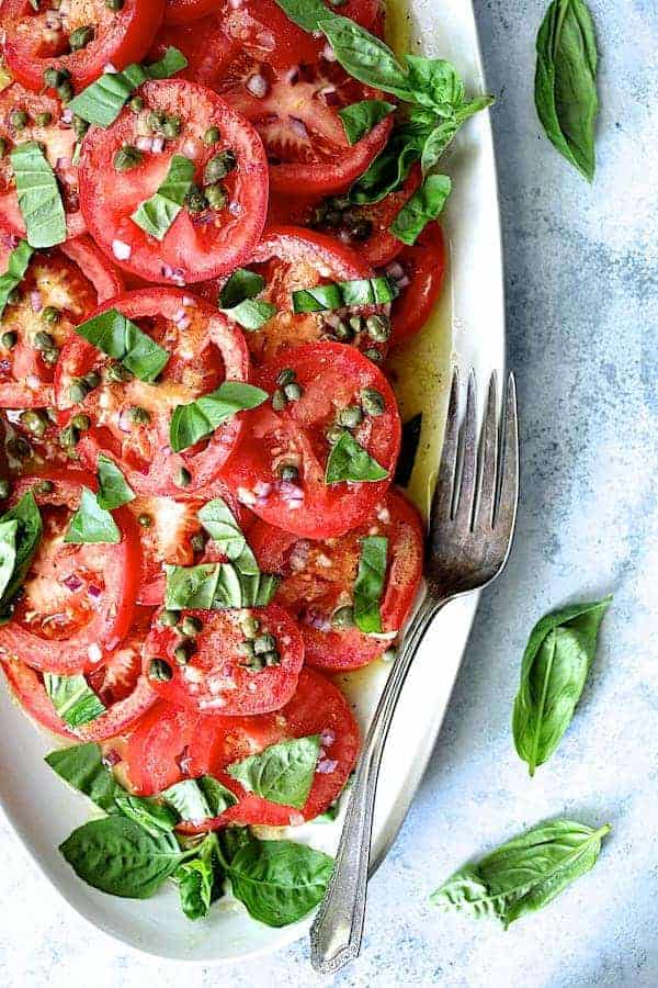 Easy Fresh Tomato Salad